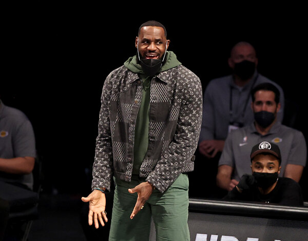 LeBron James of the Los Angeles Lakers is part-owner of Liverpool,a founding member of the Super League, through his partnership with the Fenway Sports Group.