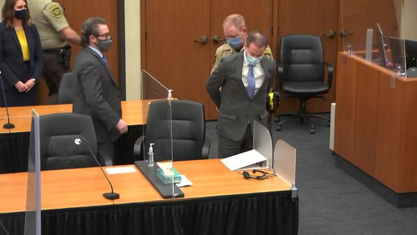 After deliberating for about 10 hours over two days, the jury found Derek Chauvin guilty of second-degree murder, third-degree murder and second-degree manslaughter for the killing of George Floyd.