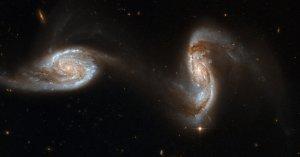 What do you call a bunch of black holes: a crash?  A scream?