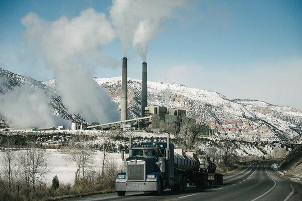 Steam billowing from a coal plant in Utah in 2019.The International Energy Agency said on Tuesday that coal demand was set to soar this year.