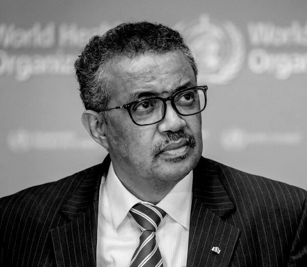 Dr. Tedros Adhanom Ghebreyesus, director-general of the World Health Organization.