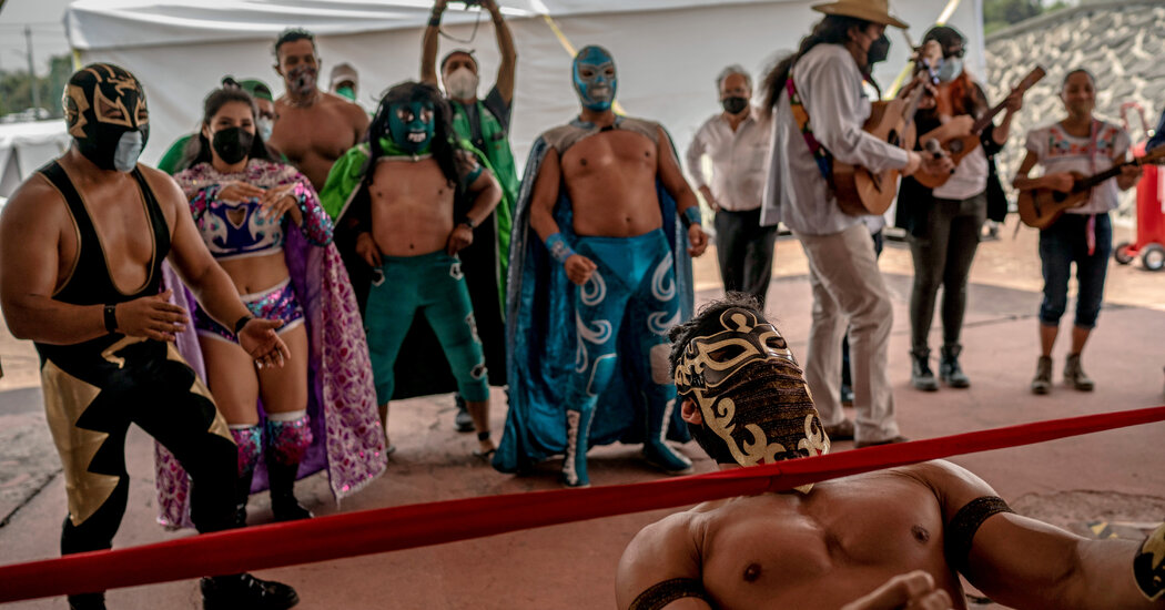 Lucha Libre, Yoga, Dancing: Welcome to Mexico City's Vaccination Sites, Swahili Post