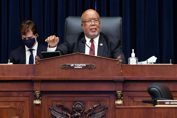 Representative Bennie Thompson of Mississippi, whose district includes Jackson, was the only Democrat to vote against the passage of the House voting rights bill last month.