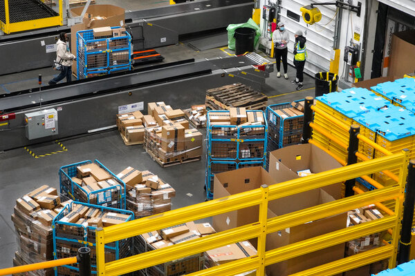 Amazon announced raises for half a million employees in its warehouses, delivery network and other fulfillment teams.