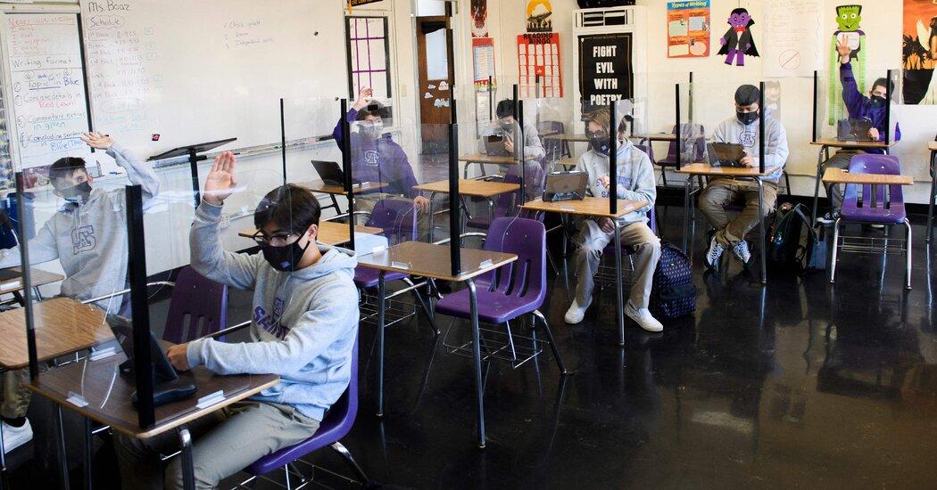 Schools in Long Beach, Calif., Start Reopening This Week