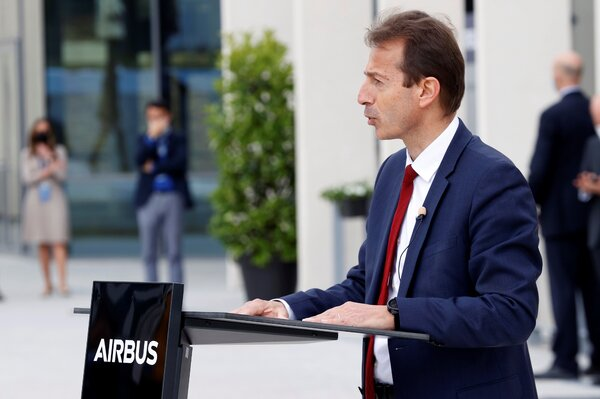"Although Airbus reported a quarterly profit after a full-year loss for 2020,  ""the market remains uncertain,""  said Guillaume Faury, the company's chief executive."