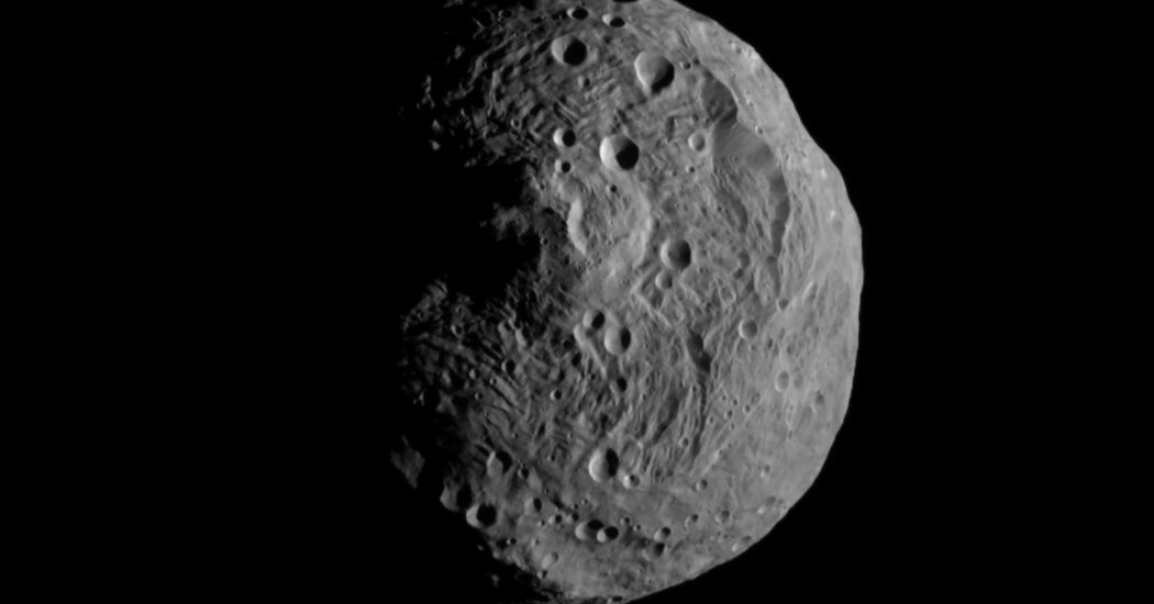 A 22-Million-Year Journey From the Asteroid Belt to Botswana