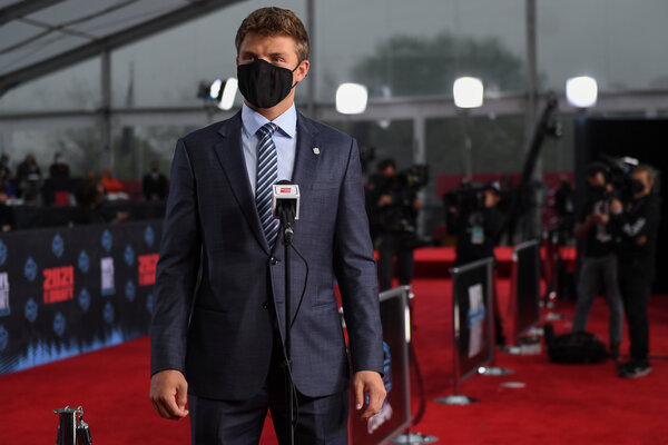 Zach Wilson walked the red carpet before the first round of the draft.