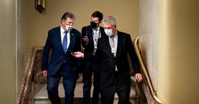 Manchin says he won't support a D.C. statehood bill.