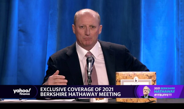 Gregory Abel, now considered Warren Buffett's heir apparent, appeared at Berkshire Hathaway's annual meeting on Saturday.