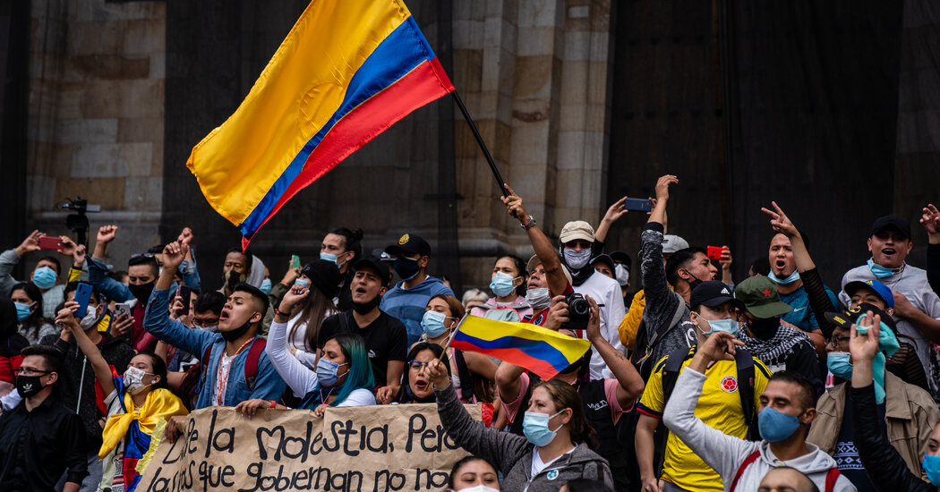 In Colombia, 17 Dead in Pandemic-Related Protests