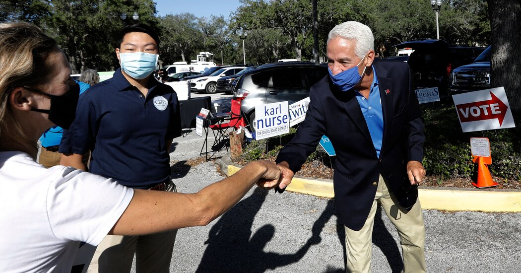 Charlie Crist Challenges DeSantis in Florida Governor's Race