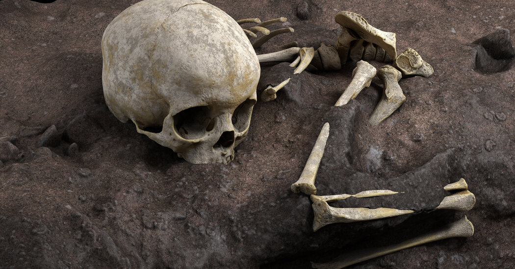 The Earliest Human Burial in Africa