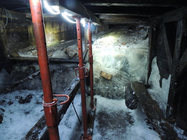 Researchers in Italy were finally able to explore World War I barracks that had been sealed in ice for decades.