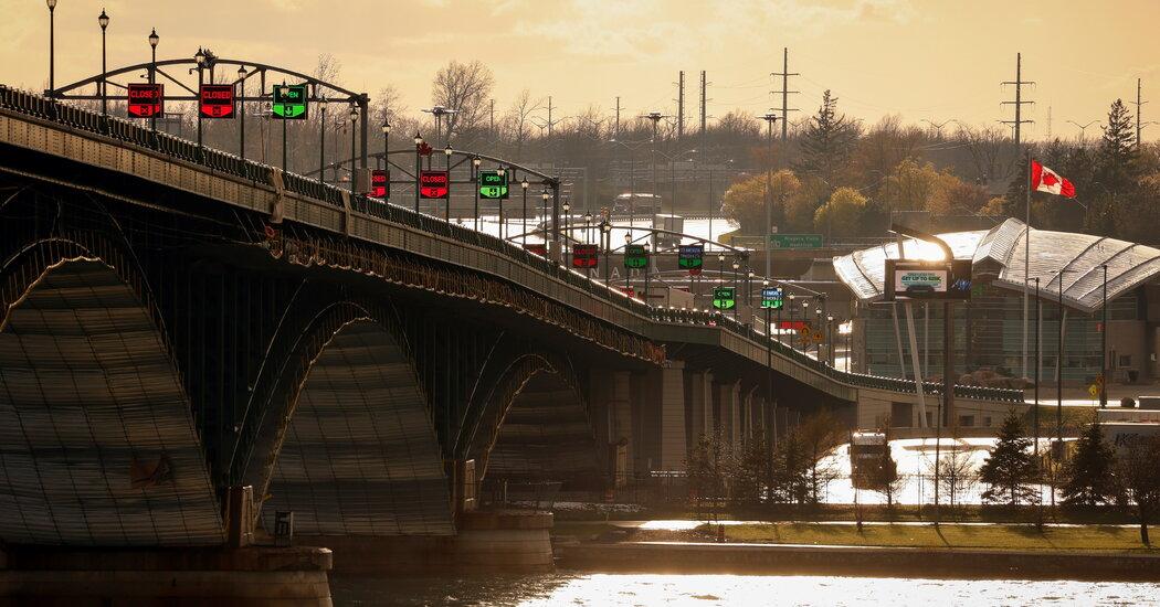 Ontario's Premier Wants a Tighter Border. A U.S. Senator Eyes Reopening It.