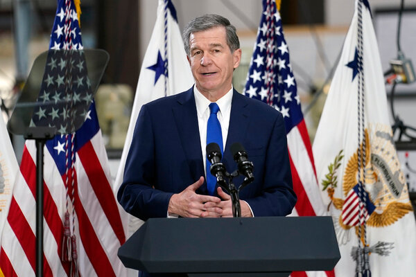 Gov. Roy Cooper of North Carolina declared a state of emergency, allowing fuel transportation waivers.
