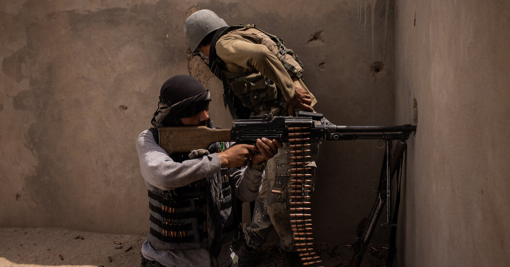What the War in Afghanistan Looks Like on the Front Line