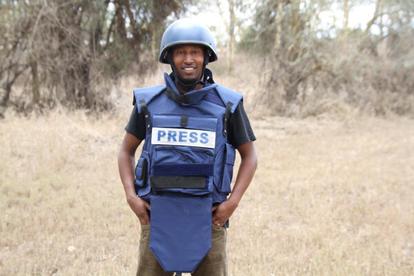 Reuters journalist Kumerra Gemechu was detained by Ethiopian forces and held for 12 days late last year.