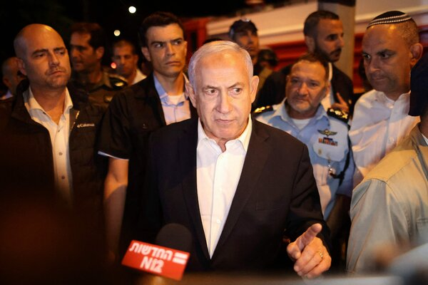 Prime Minister Benjamin Netanyahu of Israel declared a state of emergency in the city of Lod on Wednesday. His political opponents blame him for the rising violence.