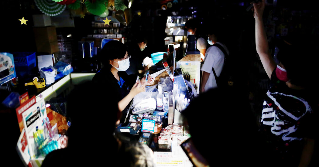 Rolling Blackouts Hit Taiwan After Accident at Power Plant