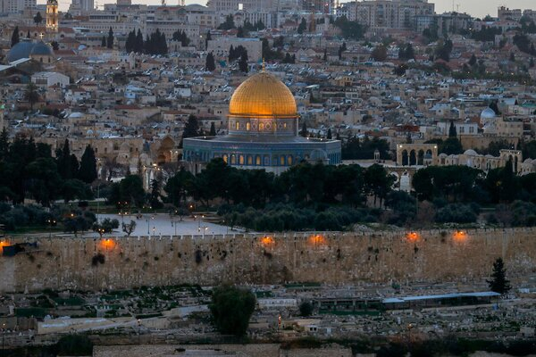 The Aqsa Mosque compound.