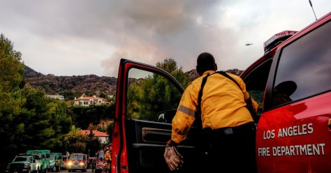 Palisades Fire: One Evacuation Order Lifted Near Los Angeles