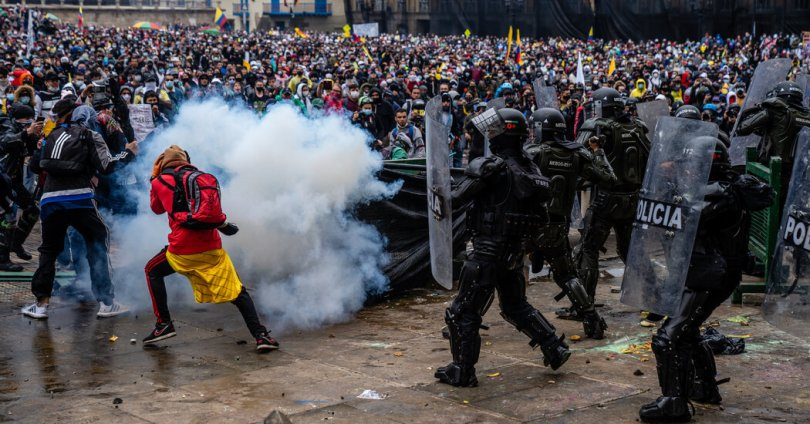 From Colombia to U.S., Police Violence Pushes Protests Into Mass Movements