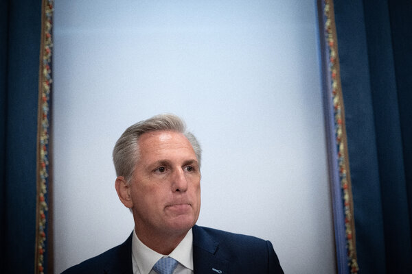 Led by Representative Kevin McCarthy, the House minority leader, Republicans tried unsuccessfully to end a mask mandate on Wednesday.