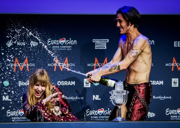 Italy's Maneskin won the Eurovision final on Saturday.
