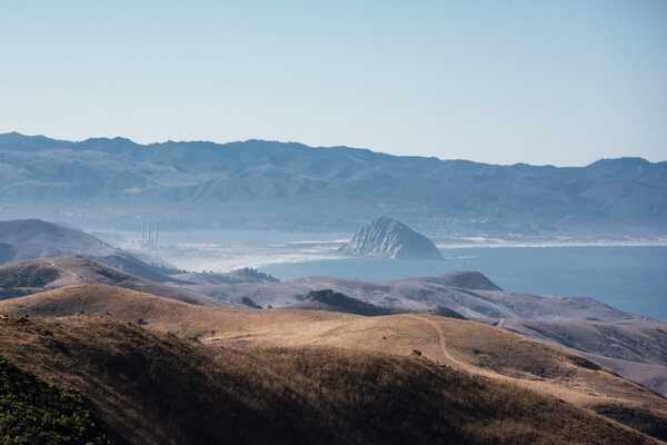 A new plan would allow offshore wind farms in an area off the coast of Morro Bay, Calif.