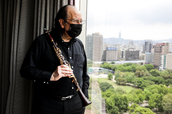 Charles Neidich, an American clarinetist, traveled to Taiwan to perform, but his concert was abruptly cancelled when a surge in coronavirus cases prompted performance venues to shut down.