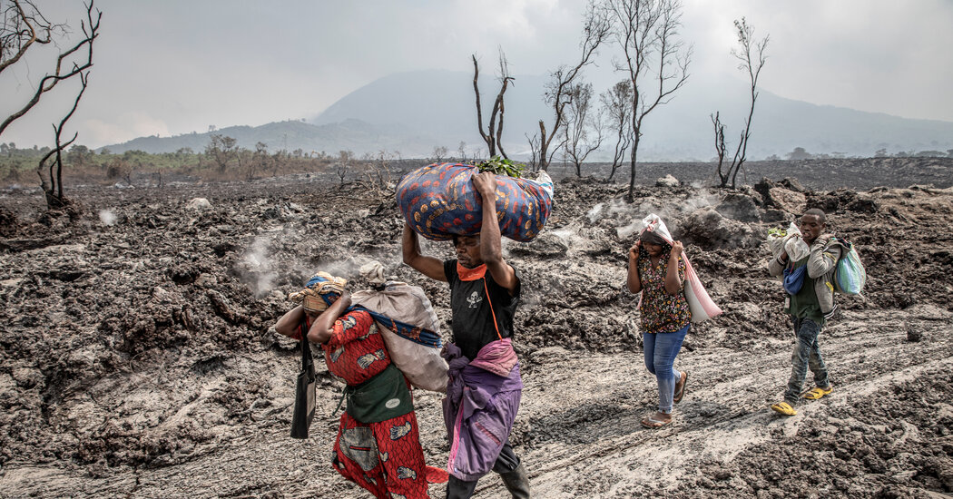 After Volcano Erupts, Residents in Congo Struggle to Find Food and Shelter