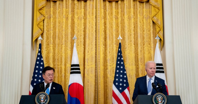 North Korea Releases Its First Response to Moon-Biden Summit