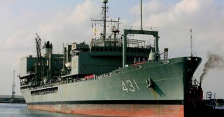 Iranian Navy's Largest Ship Catches Fire and Sinks