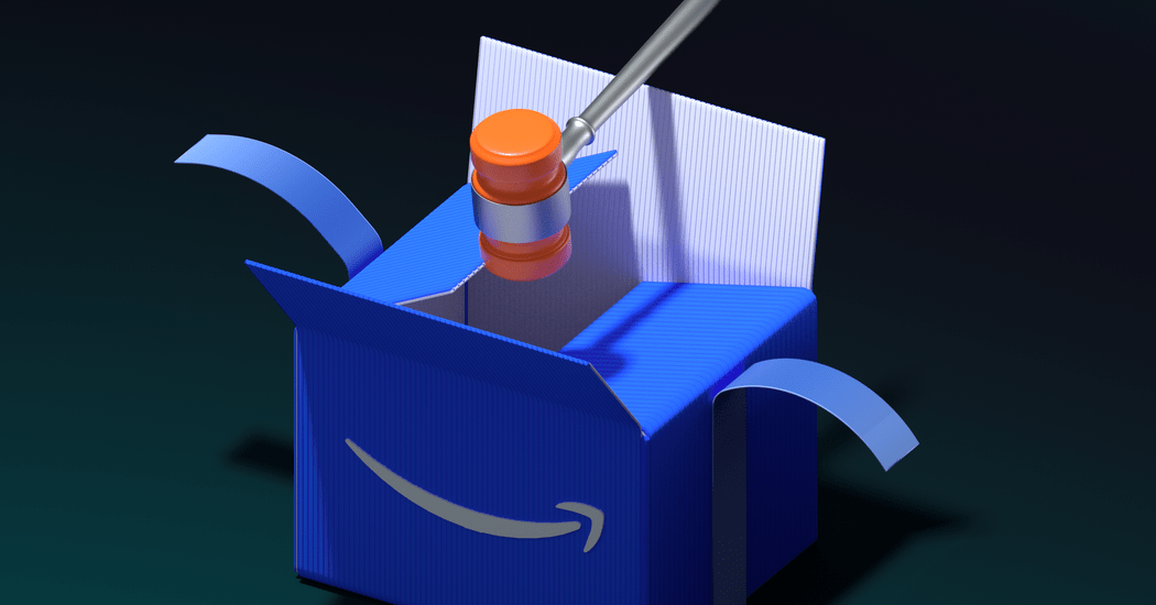 Amazon Wants a Lot of New Laws