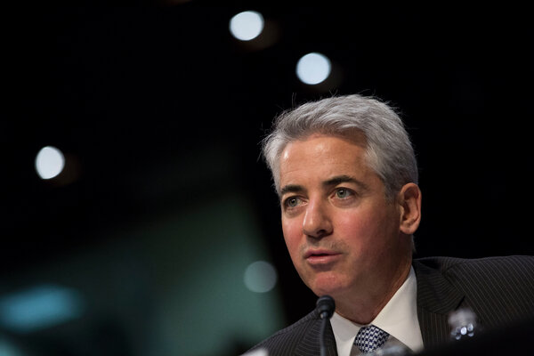 William Ackman, the chief executive of Pershing Square Tontine Holdings, a special purpose acquisition vehicle.