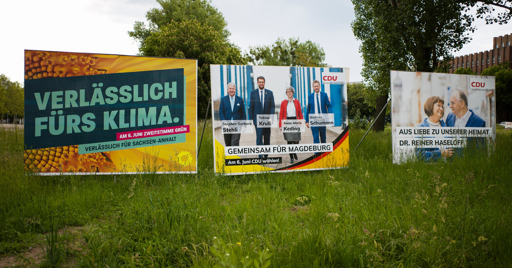 Election in East Germany Will Test the Far Right's Power