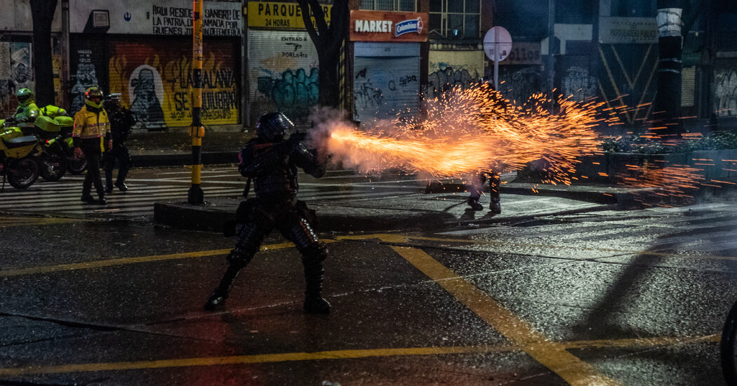 Protests Explode in Colombia, Leaving At Least 24 Dead