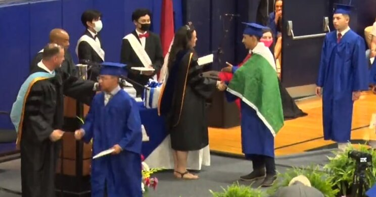 Student Is Denied High School Diploma for Wearing Mexican Flag