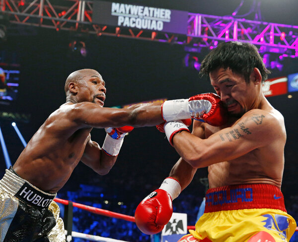 In 2015, Mayweather beat Manny Pacquiao in a unanimous decision in one of the most anticipated fights ever in boxing.