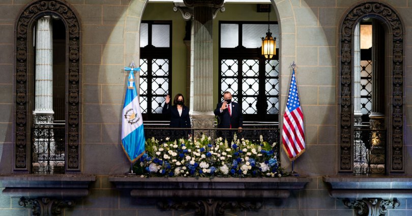 Kamala Harris dio un mensaje claro en Guatemala: 'no vengan'