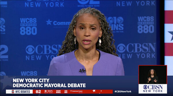 """Maya Wiley responded to the question by saying she was """"not prepared to make that decision in a debate."""""""