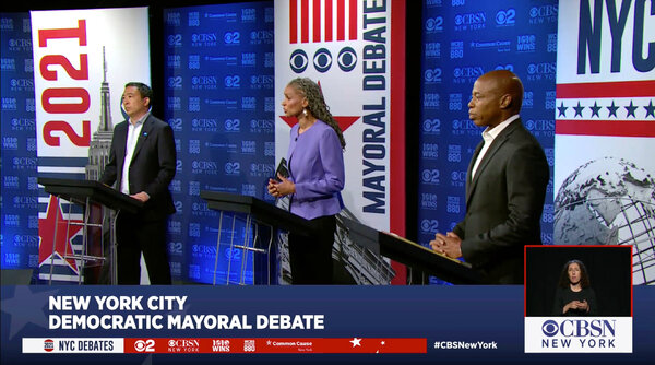 The candidates had a range of responses when asked about second-hand smoke from marijuana.