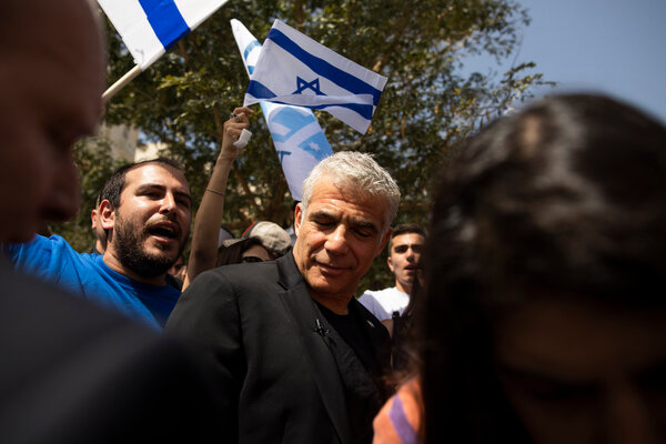 Yair Lapid helped coax into existence the fragile coalition to replace former Prime Minister Benjamin Netanyahu's government over months of phone calls and meetings with faction leaders.