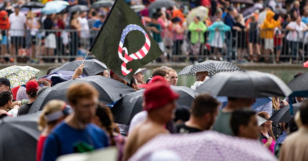 FBI Warns QAnon Believers Could Turn Violent