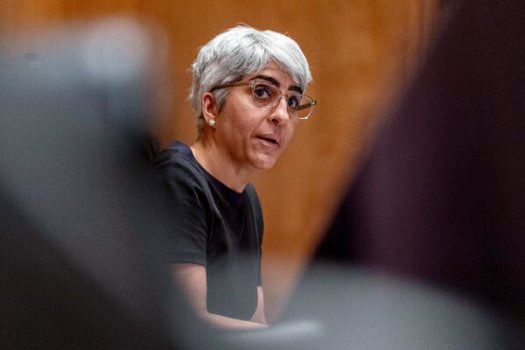 The Senate on Tuesday confirmed Kiran Ahuja, President Biden's nominee, to run the Office of Personnel Management.<br /><br /><br />
