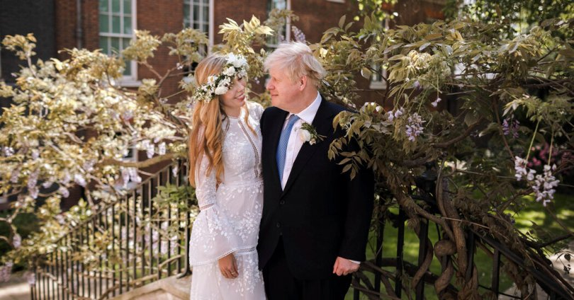 Boris Johnson Married in Stealth Ceremony