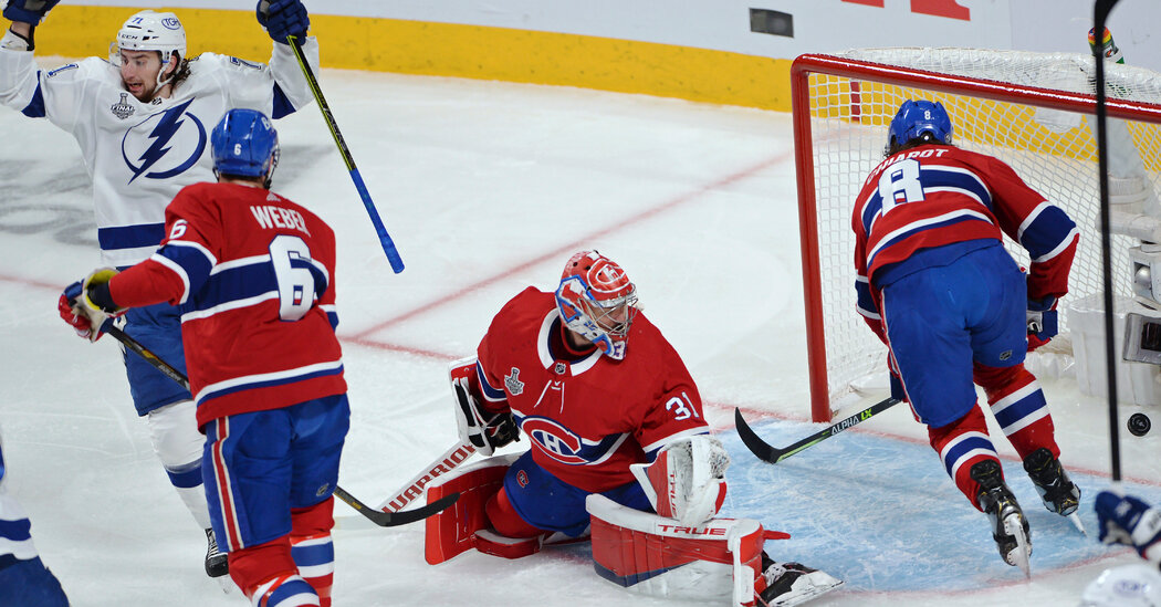 Lightning Close In on the Stanley Cup, and Carey Price Can't Stop Them
