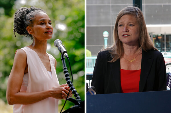Maya Wiley and Kathryn Garcia were both vying to become the first woman elected mayor of New York.