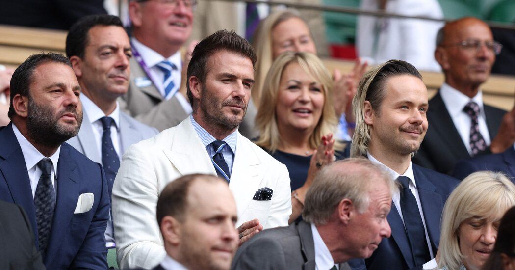 At Wimbledon, Men's Final Takes a Back Seat to England vs. Italy